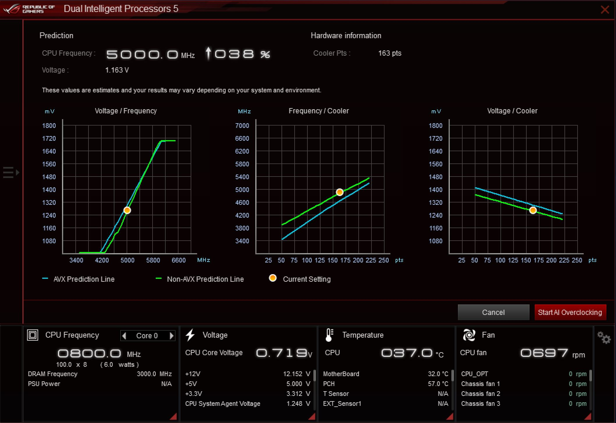 asus overclocking software windows 10