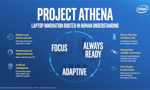 Intel launches Project Athena laptop initiative