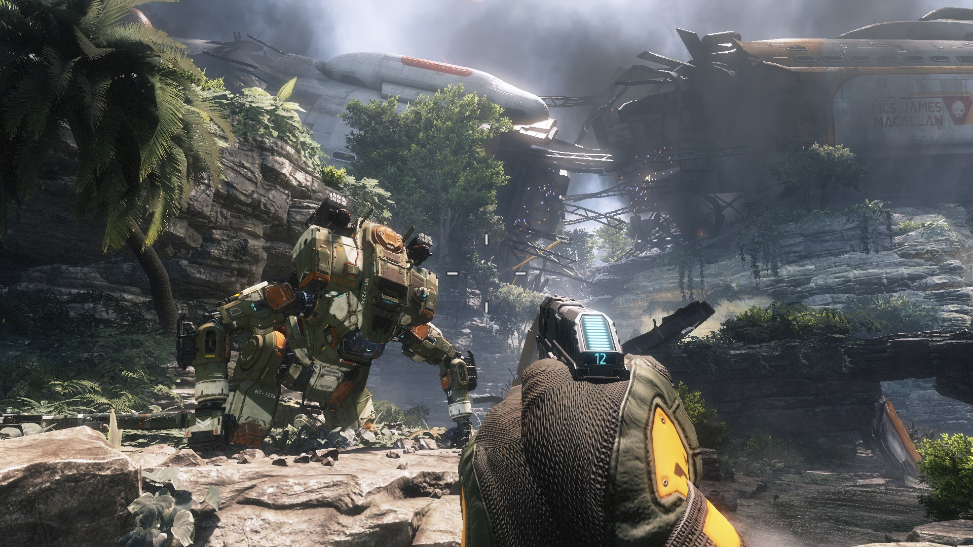how many gigs is titanfall 2