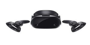Samsung unveils HMD Odyssey Windows Mixed Reality headset