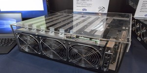 Sapphire reveals 14-GPU mining solution, confirms PSU ambitions