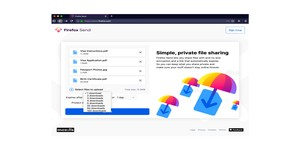 Mozilla officially launches Firefox Send