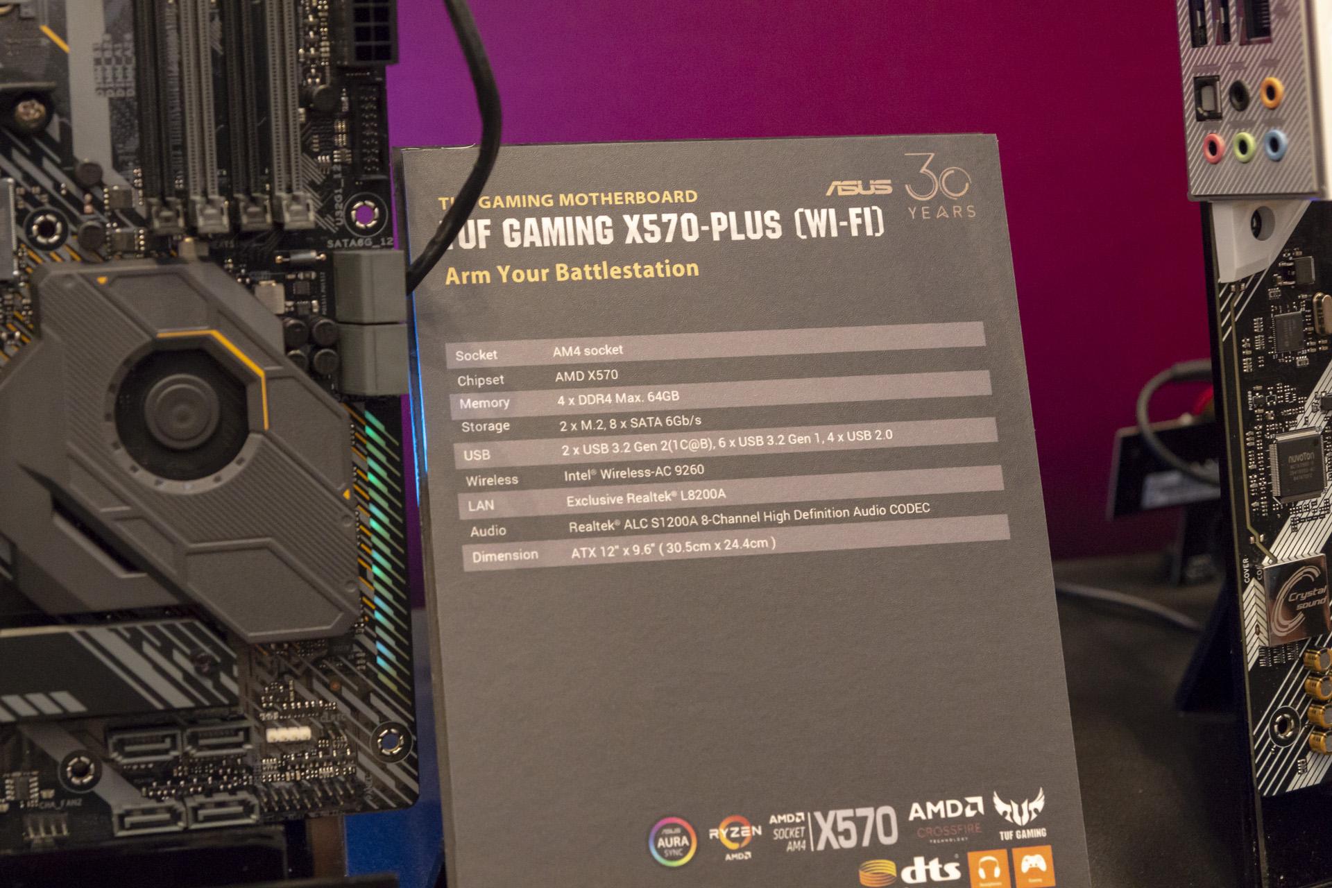 Asus reveals its X570 lineup | bit-tech net
