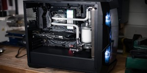 Building a Hardline Water-Cooled PC in the Antec DF500 RGB