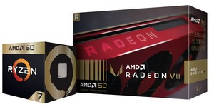 AMD releases Ryzen 7 2700X and Radeon VII Gold Editions
