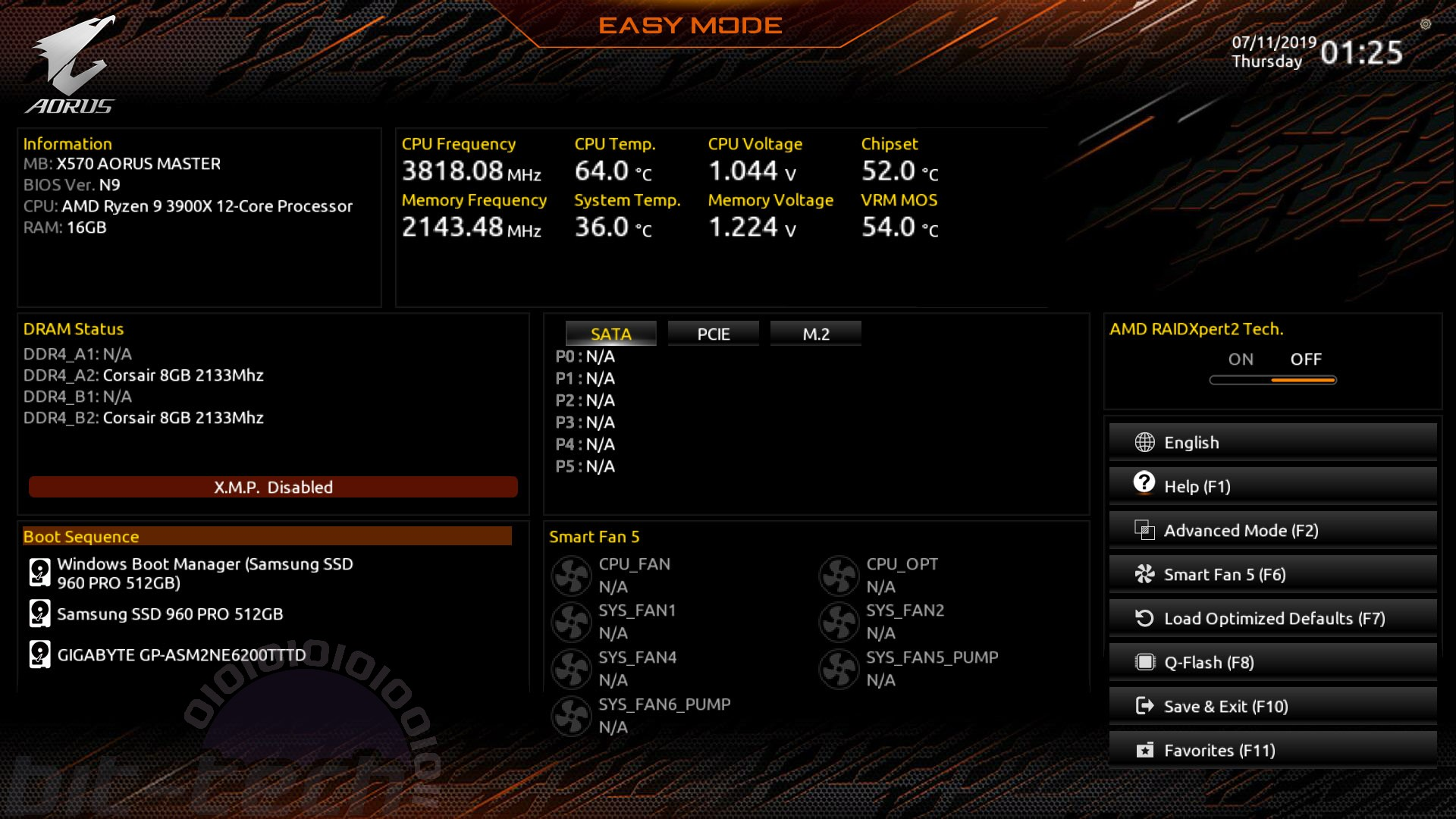 Gigabyte X570 Aorus Master Review | bit-tech net