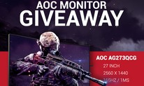 UK Competition: Win a 165Hz G-Sync, curved AOC gaming monitor!