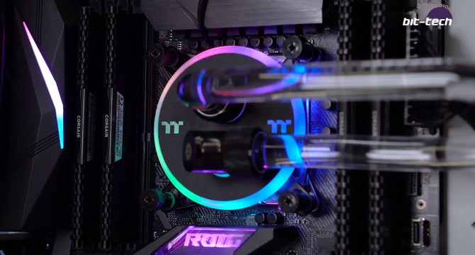 Thermaltake Pacific C360 DDC Hard Tube Water Cooling Kit Review