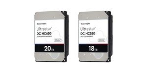 Western Digital announces 18TB, 20TB hard drives