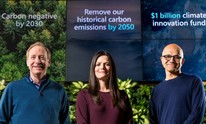 Microsoft aims to go carbon negative by 2030