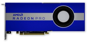 The AMD Radeon Pro W5500 is probably on its way soon