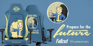 noblechairs and Bethesda team up for unique chairs