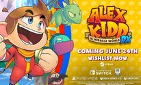 Alex Kidd in Miracle World DX arrives on PC on 24th June